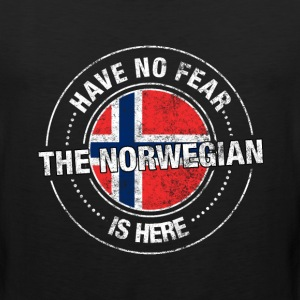 Have No Fear The Norwegian Is Here Shirt - Men's Premium Tank