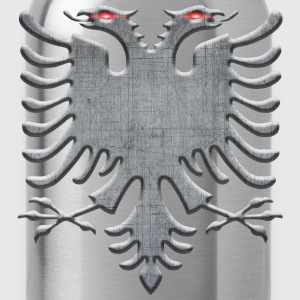 Albanian Iron Eagle - Water Bottle