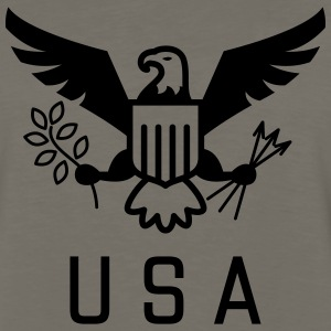 USA United States of America Eagle - Men's Premium Long Sleeve T-Shirt