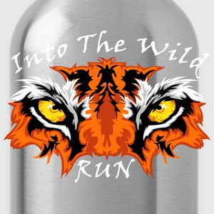 eyes of the tiger - Water Bottle