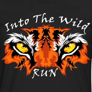 eyes of the tiger - Men's Premium Long Sleeve T-Shirt