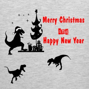 T-REX HOLIDAY T-Shirts - Men's Premium Tank
