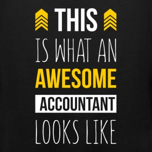 This is what an awesome accountant looks like - Men's Premium Tank