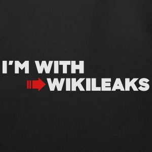 I'm with WikiLeaks Hoodies - Eco-Friendly Cotton Tote