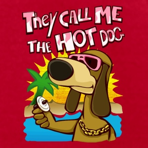 They call me the hot dog - Men's T-Shirt by American Apparel