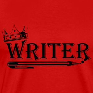 Writer With A Crown - Men's Premium T-Shirt