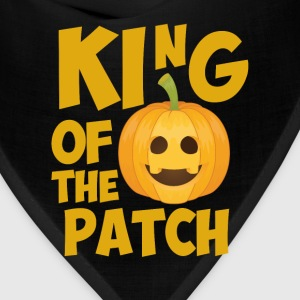 King of the Patch Pumpkin Halloween Graphic TShirt T-Shirts - Bandana