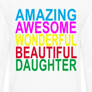 amazing_daughter_ - Men's Premium Long Sleeve T-Shirt