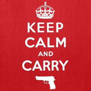 Keep Calm and Carry - Tote Bag
