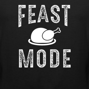 Feast Mode Funny Thanksgiving Beast TShirt - Men's Premium Tank