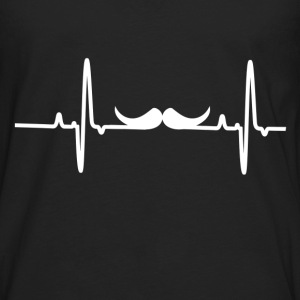 mustache 2.png T-Shirts - Men's Premium Long Sleeve T-Shirt