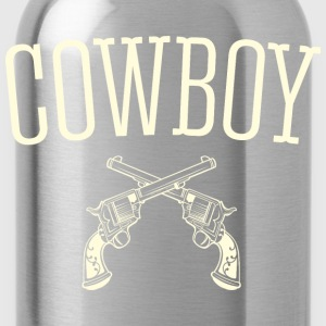 Western Cowboy - Water Bottle