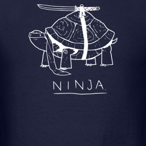 Funny Ninja Turtle - Men's T-Shirt