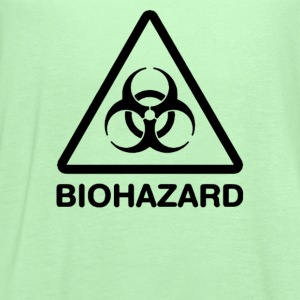 Biohazard Symbol - Women's Flowy Tank Top by Bella