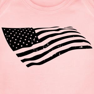 US Flag Sweatshirts - Short Sleeve Baby Bodysuit