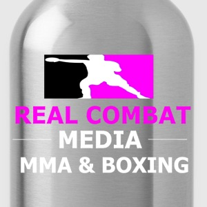 RCM MMA & BOXING Pink T-Shirts - Water Bottle