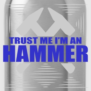 hammer 112.png T-Shirts - Water Bottle