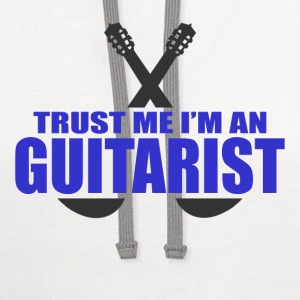 GUITARIST 111.png T-Shirts - Contrast Hoodie