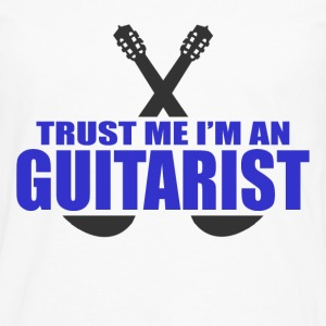 GUITARIST 111.png T-Shirts - Men's Premium Long Sleeve T-Shirt
