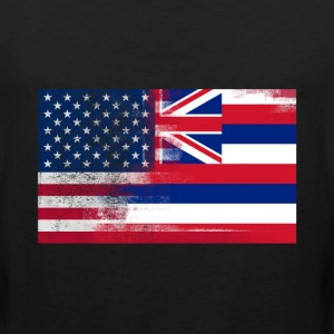 Hawaii American Flag Fusion - Men's Premium Tank