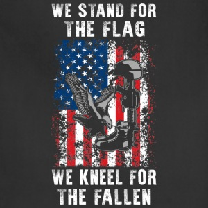 We Stand For The Flag TShirt - Adjustable Apron