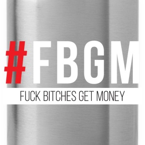 Fuck Bitches Get Money Hoodies - Water Bottle