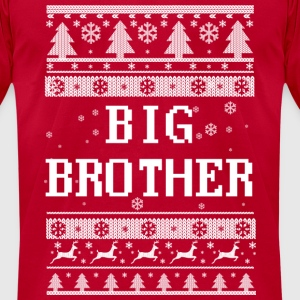 Big Brother Christmas Long Sleeve Shirts - Men's T-Shirt by American Apparel
