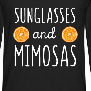 Sunglasses and mimosas - Men's Premium Long Sleeve T-Shirt