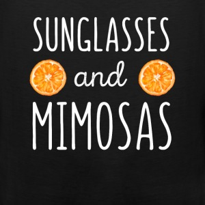 Sunglasses and mimosas - Men's Premium Tank