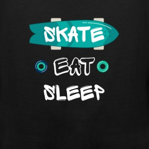 Skate. Eat. Sleep - Men's Premium Tank