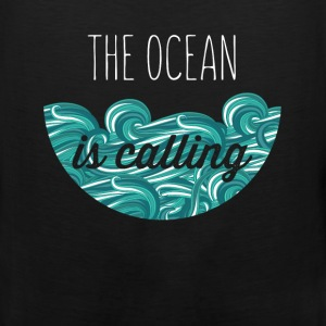 The ocean is calling - Men's Premium Tank