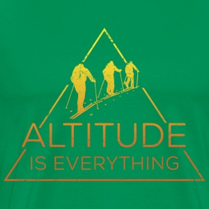 Altitude is everything - Men's Premium T-Shirt