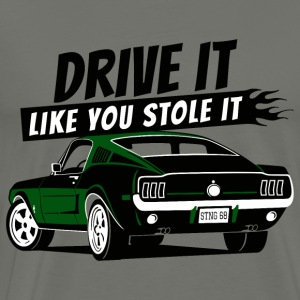 Drive it - Fastback 2 - Men's Premium T-Shirt