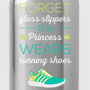 Forget glass slippers this Princess wears running  - Water Bottle