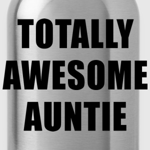 Totally Awesome Auntie T-Shirts - Water Bottle