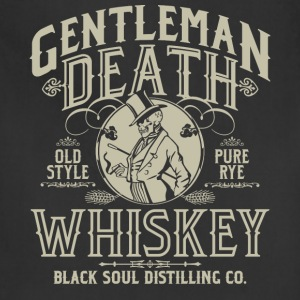 Gentleman Death Whiskey T-Shirts - Adjustable Apron