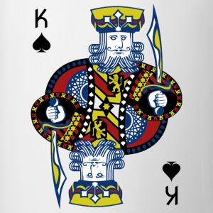 King Spade Playing Card - Coffee/Tea Mug