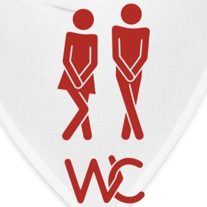 Real toilet sign - Bandana