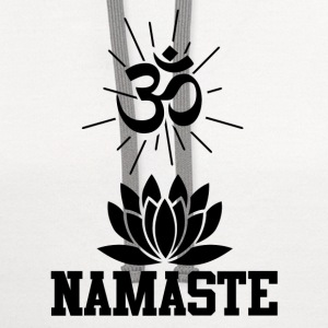 namastee 1.png T-Shirts - Contrast Hoodie