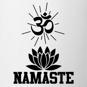 namastee 1.png T-Shirts - Coffee/Tea Mug