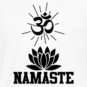 namastee 1.png T-Shirts - Men's Premium Long Sleeve T-Shirt