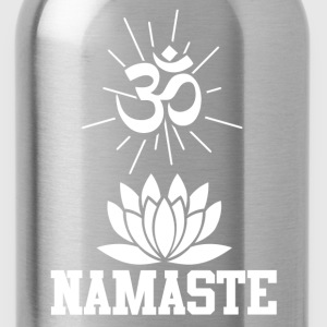 namaste 112.png T-Shirts - Water Bottle
