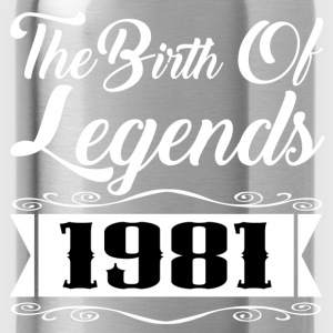 legend 1981 1.png T-Shirts - Water Bottle