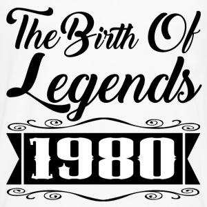 birth legend 1980 1.png T-Shirts - Men's Premium Long Sleeve T-Shirt