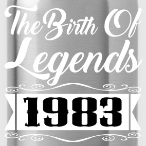 legends 1983 1.png T-Shirts - Water Bottle