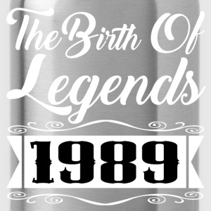 legends 1989 1.png T-Shirts - Water Bottle