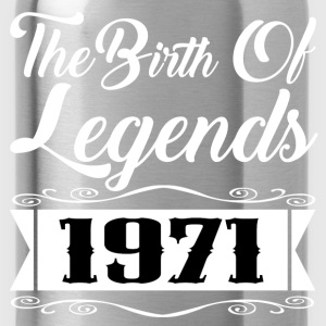 legends 1971 2.png T-Shirts - Water Bottle