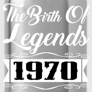 legends 1970 2.png T-Shirts - Water Bottle