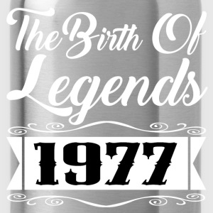 legends 1977 1.png T-Shirts - Water Bottle