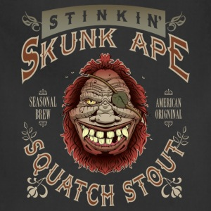 Stinkin' Skunk Ape Squatch Stout - Adjustable Apron